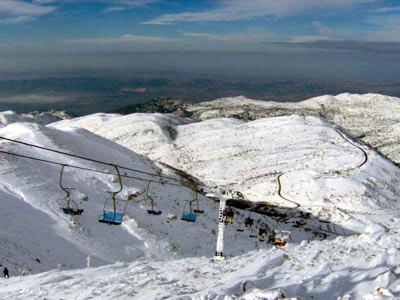 Mount Hermon ski resort