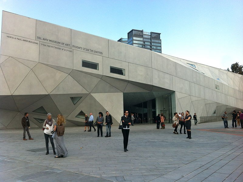 Tel Aviv Museum of Art: By Arthur Schmunk