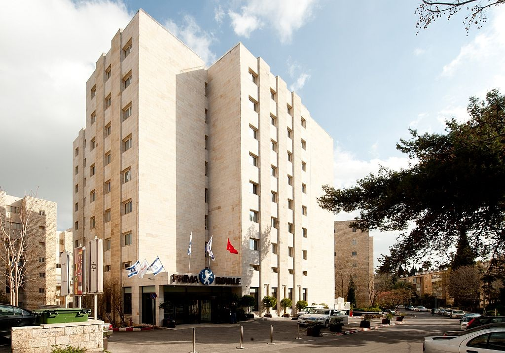 Prima Royale Jerusalem Hotel - Outside View