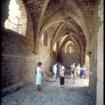 Caesarea: The gate of the Crusader city. Property of the Israel Ministry of Tourism