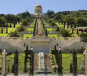 Bahai Garden-property of Israeli Ministry of Tourism www.goisrael.com